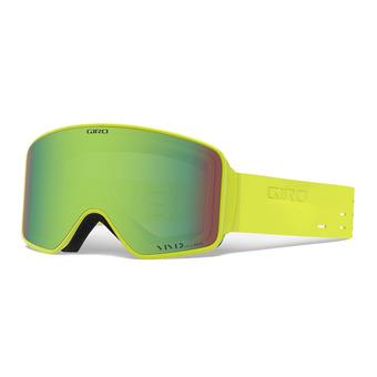 Giro METHOD - Gafas de esquí de silicona citron vivid emerald