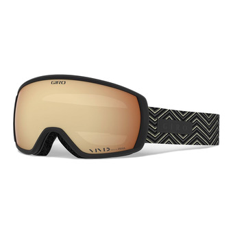 Giro FACET - Masque ski black zag vivid copper