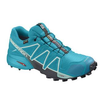Salomon SPEEDCROSS 4 GTX - Trail Shoes - Women's - bluebird/icy morn/ebony