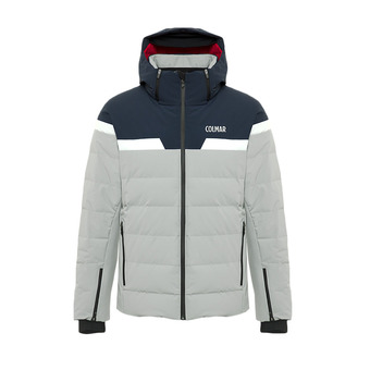 M. DOWN SKI JACKET Homme GREYSTONE-BLUE BLACK1044-6TZ-439