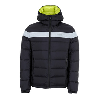 Colmar HOODED PUFFY DOWN - Doudoune Homme black/white