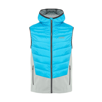 Colmar HOODED HYBRID - Chaleco hombre mirage/greystone
