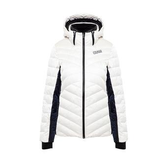 Colmar ANCOLIE - Doudoune ski Femme white/blue black