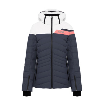 L.DOWN SKI JACKET Femme BLUE BLACK-BLUE BLAC2856-1UA-167