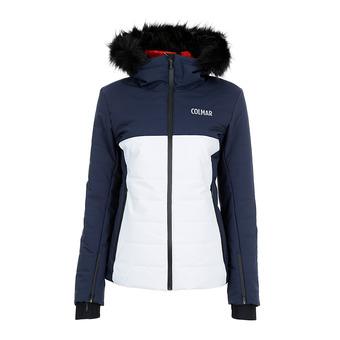 Colmar LAKE LOUISE - Chaqueta de esquí mujer white/blue black