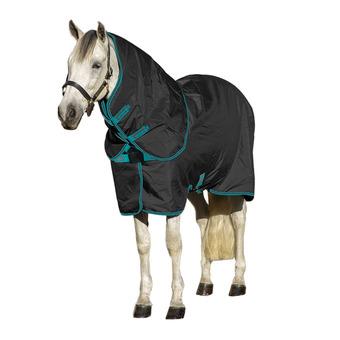 Horseware AMIGO - Manta polar black teal/dark cherry