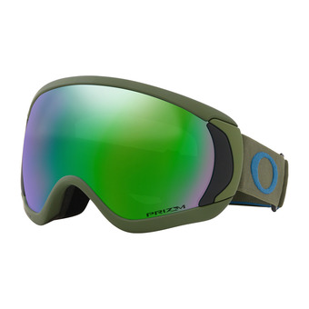 Oakley CANOPY - Masque ski green/prizm snow jade iridium
