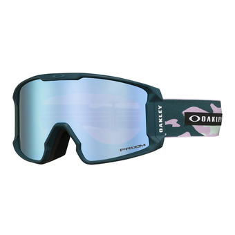 Oakley LINE MINER XM - Masque ski pink/prizm sapphire