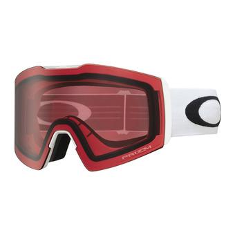 Oakley FALL LINE XL - Gafas de esquí white/prizm snow rose
