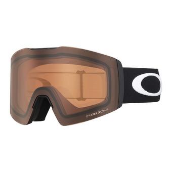 Oakley FALL LINE XL - Gafas de esquí matte black/prizm persimmon