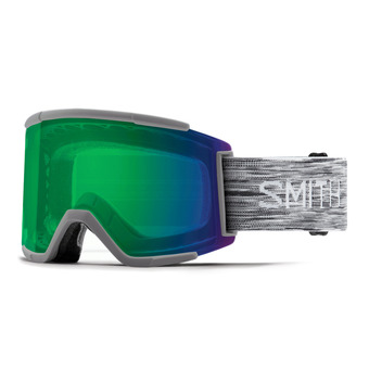 Smith SQUAD - Masque de ski green sol x mirror