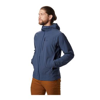 Mountain Hardwear STRETCH OZONIC - Veste Homme zinc
