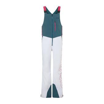 Oakley TIMBER 2.0 - Pantaloni da sci con bretelle Uomo electric shade