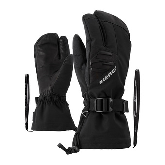 Ziener GOFRIEDER AS AW LOBSTER - Guantes de esquí hombre black