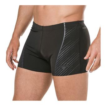 Speedo SPORT PANEL - Boxer da bagno Uomo black/grey
