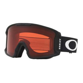 Oakley LINE MINER XM - Gafas de esquí matte black/prizm snow rose