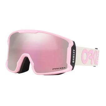 Oakley LINE MINER XM - Masque ski factory pilot pink/prizm snow hi pink iridium