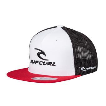Rip Curl SURF CO TRUCKER - Cappellino Uomo optical white