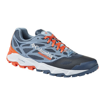 Columbia TRANS ALPS F.K.T. II - Trail Shoes - Men's - zinc/red quartz