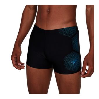 Speedo TECH PLACEMENT - Swimming Trunks - Men's - black/blue
