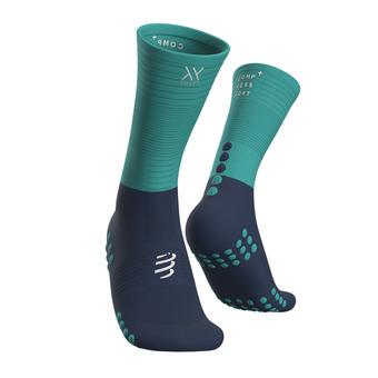 Mid Compression Socks Unisexe BLUE/ICE BLUE