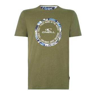 Makena t-shirt Homme Winter Moss