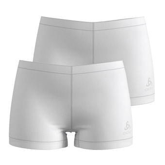 Odlo ACTIVE CUBIC LIGHT - Boxers x2 mujer white