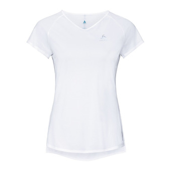 T-shirt s/s crew neck ZEROWEIGHT Femme white