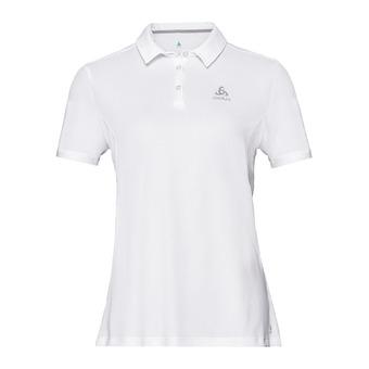 Polo shirt s/s F-DRY Femme white