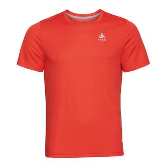 T-shirt s/s crew neck F-DRY Homme mandarin red