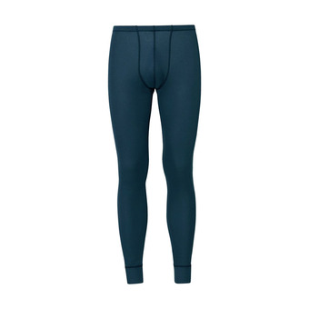 Odlo ACTIVE WARM - Mallas largas hombre india ink