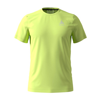Odlo CERAMICOOL ELEMENT - Camiseta hombre sunny lime
