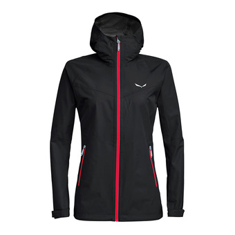 Salewa AQUA 3 POWERTEX - Jacket - Women's -black out