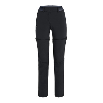 Salewa PEDROC 2 EN 1 - Pants - Women's -black out