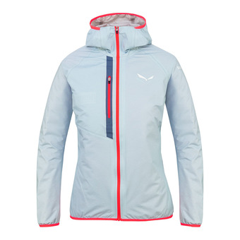 Salewa PUEZ LIGHT POWERTEX - Jacket - Women's -blue fog