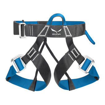 Salewa VIA FERRATA - Harness - carbon/ polar blue