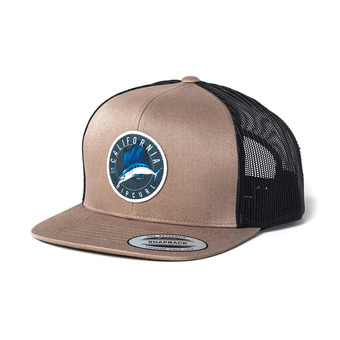 DESTINATION SURF TRUCKER CAP Homme DARK KHAKI
