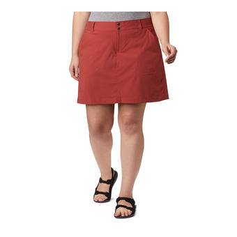 Saturday Trail Skort Femme Dusty Crimson