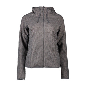 Pacific Point Full Zip Hoodie Femme City Grey Heather, Peach Cloud