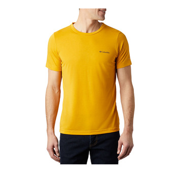 Maxtrail SS Logo Tee Homme Bright Gold