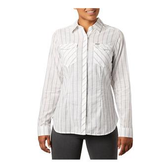 Camp Henry II LS Shirt Femme White Stripe