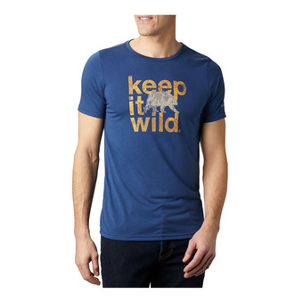 Terra Vale II SS Tee Homme Carbon Keep It Wild