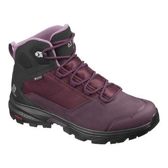 Shoes OUTward GTX W Winetastin/Bk/Quail Femme Winetastin/Bk/Quail