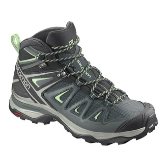Shoes X ULTRA 3 MID GTX W GREEN /Balsam Femme GREEN /Balsam