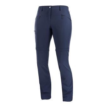 Pants WAYFARER STRAIGHT ZIP PAN NIGHT SK Femme NIGHT SKY