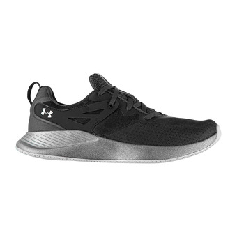 Under Armour CHARGED BREATHE - Zapatillas de training mujer jet gray/jet gray/halo gray