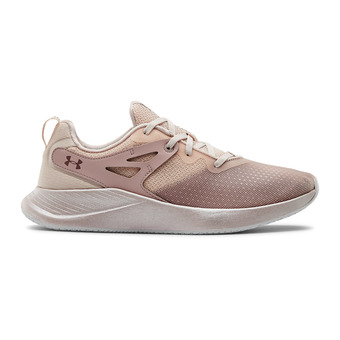 Under Armour CHARGED BREATHE - Zapatillas de training mujer french gray/dash pink/hushed pink