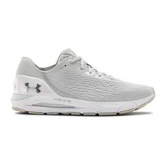 UA HOVR Sonic 3 W8LS-GRY Homme Halo Gray/Blue Ink/Metallic Silver