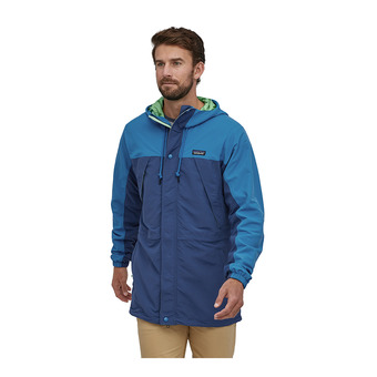 M's Recycled Nylon Parka Homme Superior Blue