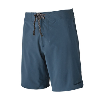 M's Stretch Hydropeak Boardshorts - 18 in. Homme Stone Blue